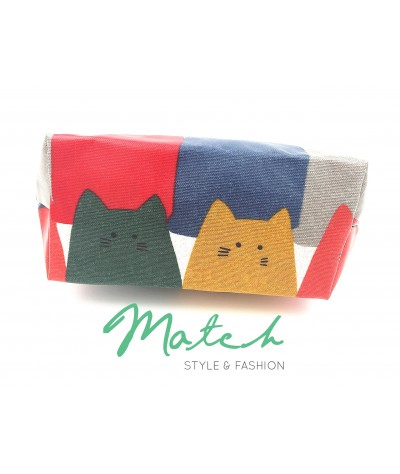 Korea designed handmade multi porch bag  - Fatty cat